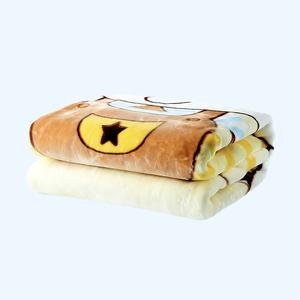 卡卡图多功能 黄色奶牛 厚毛毯抱毯 云毯 婴幼儿盖被 精品热卖