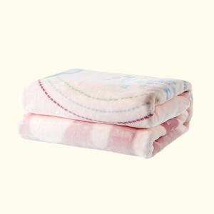 卡卡图多功能 粉色小象 厚毛毯抱毯 云毯 婴幼儿盖被 精品热卖
