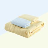 卡卡图 纯棉纱布 精梳包边 浴巾+2毛巾 礼盒装