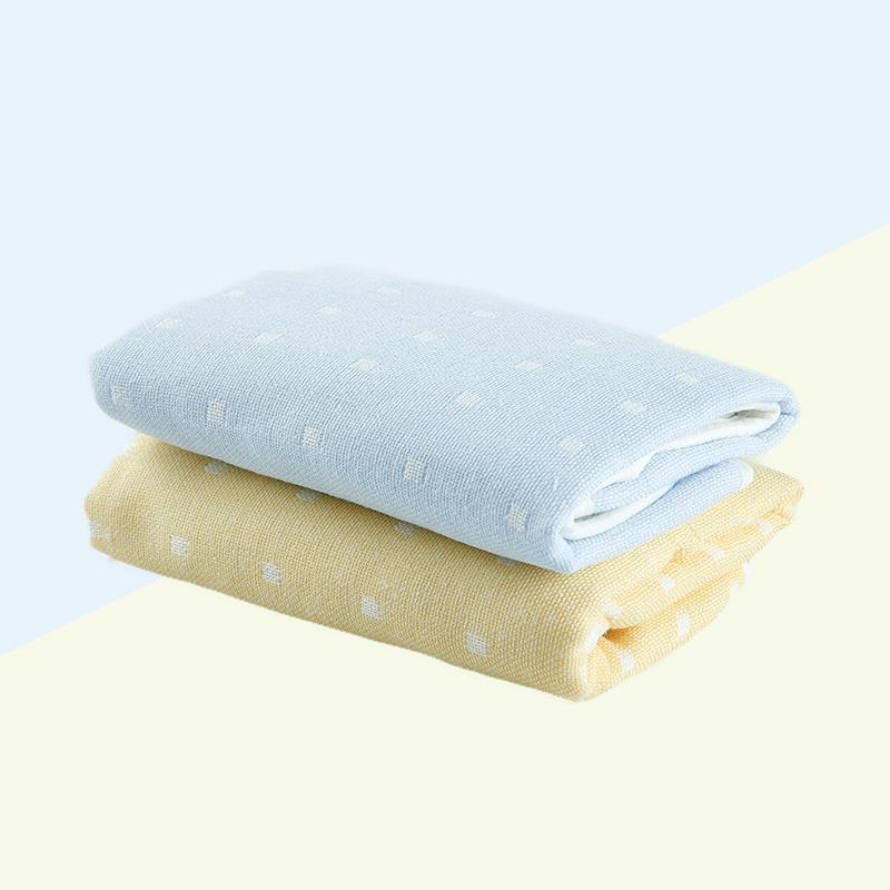 卡卡图 婴儿纯棉纱布 精梳包边童巾
