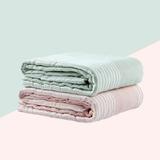 卡卡图 婴儿纯棉 简约生活浴巾(纸盒装)