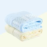 卡卡图 纯棉 冰丝方块浴巾
