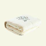 卡卡图 婴儿纯棉 毛圈绣浴巾